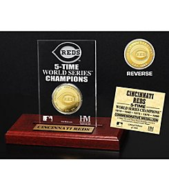 MLB® Cincinnati Reds World Series Champions Gold Coin Etched Acrylic