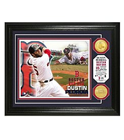 MLB® Boston Red Sox Dustin Pedroia Photo Mint