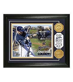 MLB® Milwaukee Brewers Jonathan Lucroy Photo Mint