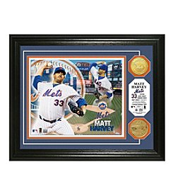 MLB® New York Mets Matt Harvey Photo Mint