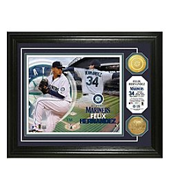 MLB® Seattle Mariners Felix Hernandez Photo Mint