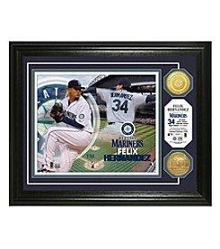 MLB® Seattle Mariners Felix Hernandez Photo Mint