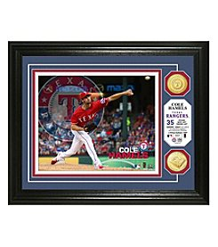 MLB® Texas Rangers Cole Hamels Photo Mint