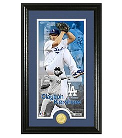 MLB® Los Angeles Dodgers Clayton Kershaw Supreme Bronze Coin Photo Mint
