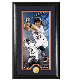 MLB® Houston Astros Jose Altuve Supreme Bronze Coin Photo Mint