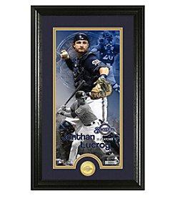 MLB® Milwaukee Brewers Jonathan Lucroy Supreme Bronze Coin Photo Mint