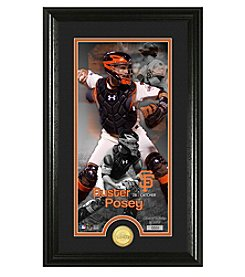MLB® San Francisco Giants Buster Posey Supreme Bronze Coin Photo Mint