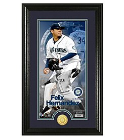 MLB® Seattle Mariners Felix Hernandez Supreme Bronze Coin Photo Mint