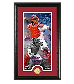 MLB® St. Louis Cardinals Yadier Molina Supreme Bronze Coin Photo Mint