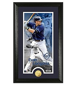 MLB® Tampa Bay Rays Evan Longoria Supreme Bronze Coin Photo Mint