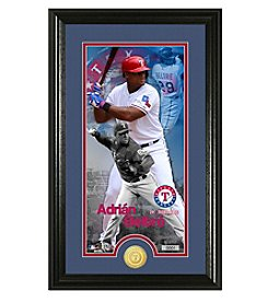 MLB® Texas Rangers Adrian Beltre Supreme Bronze Coin Photo Mint
