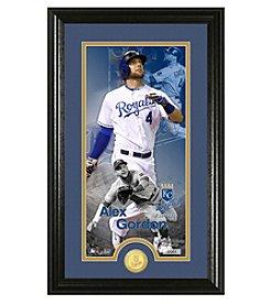 MLB® Kansas City Royals Alex Gordon Supreme Bronze Coin Photo Mint