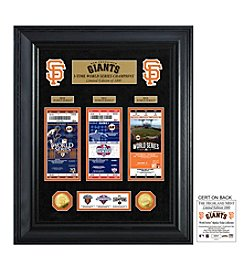 MLB® San Francisco Giants World Series Deluxe Gold Coin and Ticket Collection