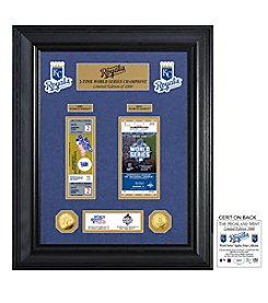 MLB® Kansas City Royals World Series Deluxe Gold Coin and Ticket Collection