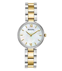Bulova® Women's Two Tone Watch