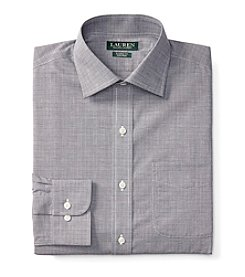 Lauren Ralph Lauren® Men's Long Sleeve Spread Collar Plaid Dress Shirt