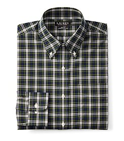Lauren Ralph Lauren® Men's Long Sleeve Button Down Checked Dress Shirt