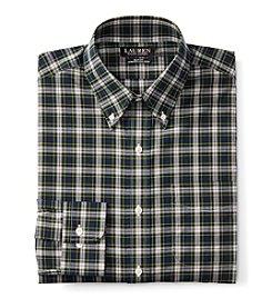 Lauren Ralph Lauren® Men's Long Sleeve Button Down Checked Dress Shirt
