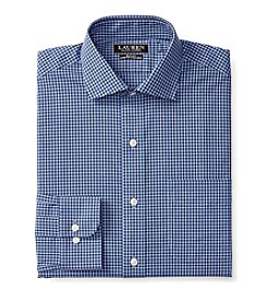Lauren Ralph Lauren® Men's Long Sleeve Spread Collar Checked Dress Shirt
