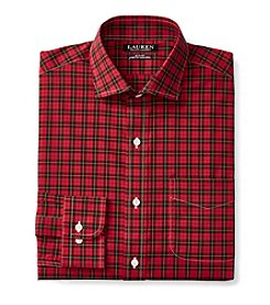 Lauren Ralph Lauren® Men's Long Sleeve Checked Dress Shirt