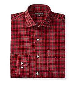 Lauren Ralph Lauren® Men's Long Sleeve Checked Dress Shirt