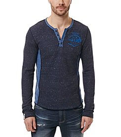 Buffalo by David Bitton Men's Kimuse Long Sleeve Henley