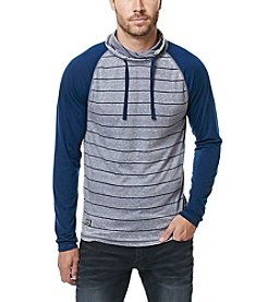 Buffalo by David Bitton Men's Kigreen Long Sleeve Raglan Striped Tee