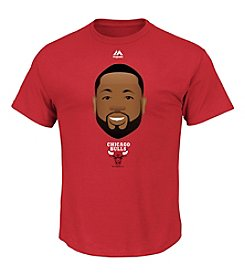 Majestic Men's NBA® Chicago Bulls Dwayne Wade Emoji Tee