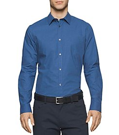 Calvin Klein Men's Infinite Cool Long Sleeve Button Down Shirt