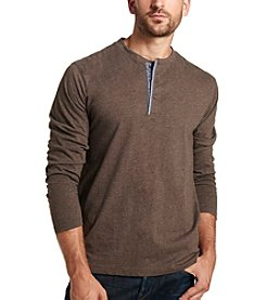 Weatherproof® Men's Long Sleeve Henley Tee