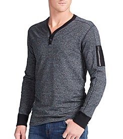 William Rast® Men's Maverick Henley Tee