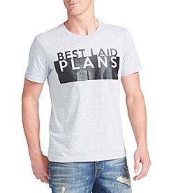 William Rast® Men's Best Laid Plans Short Sleeve Graphic Tee