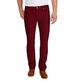 William Rast® Men's Dean Slim Straight Twill Pants