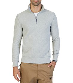 Nautica® Men's Big & Tall Long Sleeve 1/4 Zip Sweater