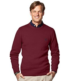 Chaps® Men's Solid Crew Neck Sweater