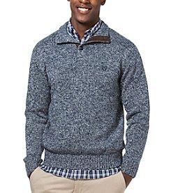 Chaps® Men's Twist Button Mock Sweater