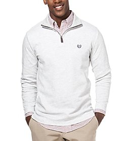 Chaps® Men's Herringbone Quarter Zip Sweater