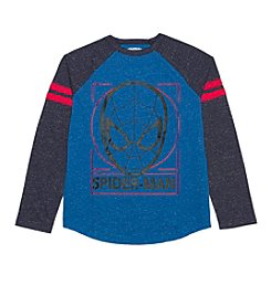 Spider-Man® Boys' 8-20 Long Sleeve Spiderman Outline Tee