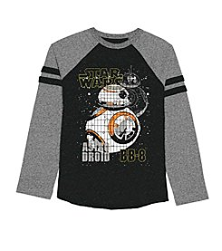 Star Wars™ Boys' 8-20 Long Sleeve Mosaic BB-8 Astro Droid Tee