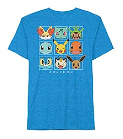 Pokemon® Boys' 4-7 Short Sleeve Pokemon Square Tee