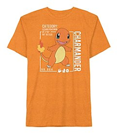 Pokemon® Boys' 4-7 Short Sleeve Charmander Tee