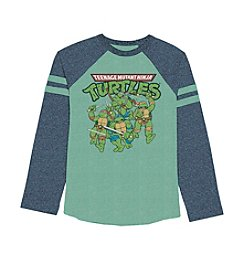 Teenage Mutant Ninja Turtles® Boys' 4-7 Long Sleeve Raglan Tee