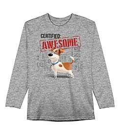 The Secret Life of Pets™ Boys' 4-7 Long Sleeve Certified: Awesome Tee