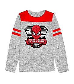Spider-Man® Boys' 4-7 Long Sleeve Spiderman Crest Tee