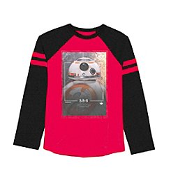 Disney® Star Wars™ Boys' 4-7 Long Sleeve BB8 Astro Tee