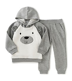 Kids Headquarters® Boys' 2T-4T 2-Piece Polar Bear Hoodie and Joggers Set