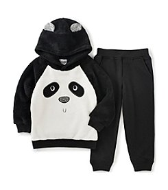 Kids Headquarters® Boys' 2T-4T 2-Piece Panda Bear Hoodie and Joggers Set
