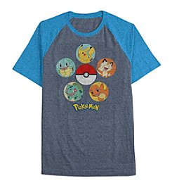 Pokemon® Boys' 4-20 Short Sleeve Pokemon Circle Tee