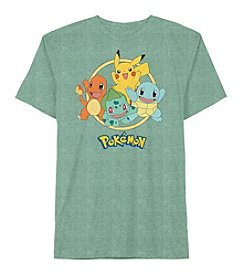 Pokemon® Boys' 4-20 Short Sleeve Pokemon Group Tee