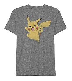 Pokemon® Boys' 4-20 Short Sleeve Pikachu Tee